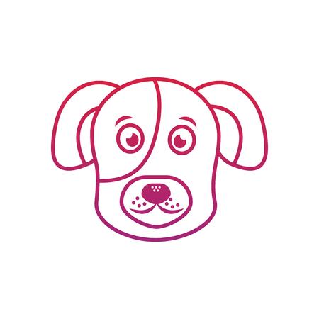 犬や子犬ペットアイコン画像ベクトルイラストデザイン 写真素材 - 92413398