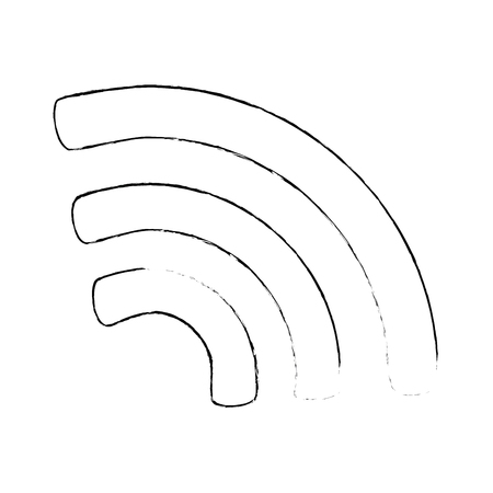Wifi signal isolated icon vector illustration design.