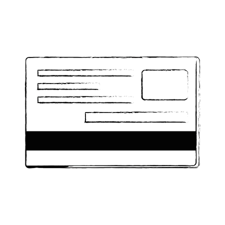 Credit cards isolated icon vector illustration design. Illustration