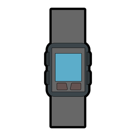 smart watch isolated icon vector illustration design