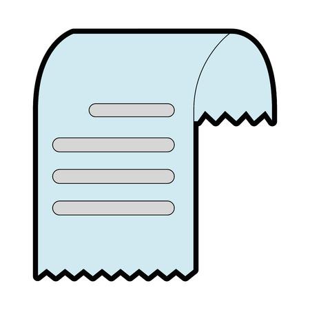 Gutschein Papier isoliert Symbol Vektor-Illustration , Design , Standard-Bild - 92413798