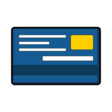 Credit cards isolated icon vector illustration design Illustration