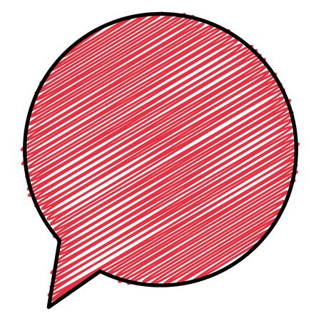音声バブル分離アイコンベクトルイラストデザイン 写真素材 - 92416599