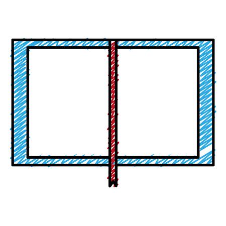 Vector de illustratieontwerp van het handboek geïsoleerd pictogram Stock Illustratie