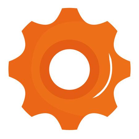 gear machine isolated icon vector illustration design Stock Vector - 92476385