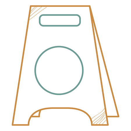 Construction label isolated icon vector illustration design.