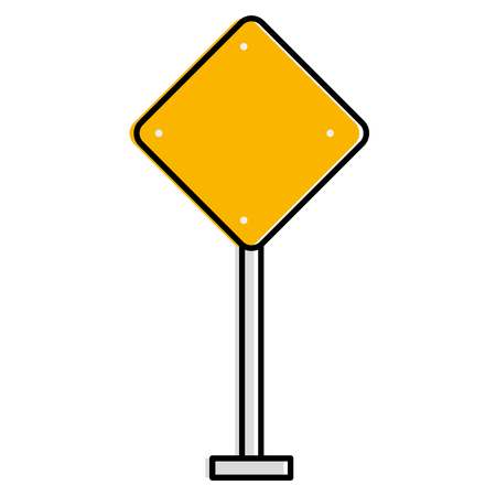 交通信号ダイヤモンドアイコンベクトルイラストデザイン