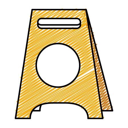 ontwerp van de bouw het etiket geïsoleerde pictogram vectorillustratie