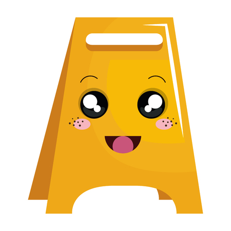 construction label character vector illustration design Illustration