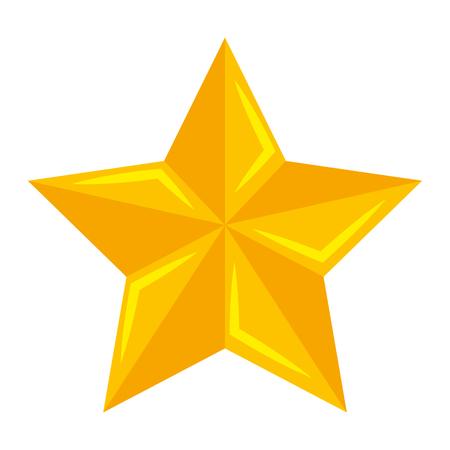 Ein Weihnachtsstern dekorative Symbol Vektor-Illustration Design Standard-Bild - 92441169
