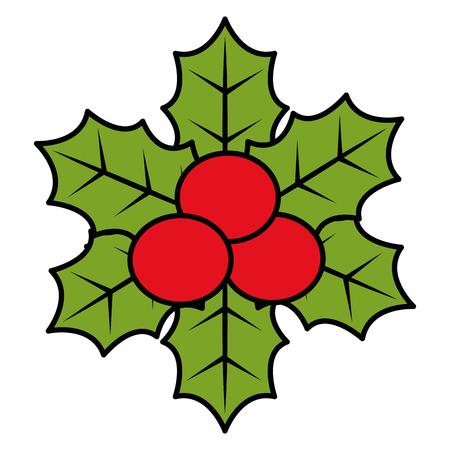 Christmas leafs decorative frame vector illustration design. Stock Vector - 92441729
