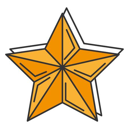 Weihnachtsstern dekorative Symbol Vektor-Illustration , Design , Standard-Bild - 92499451