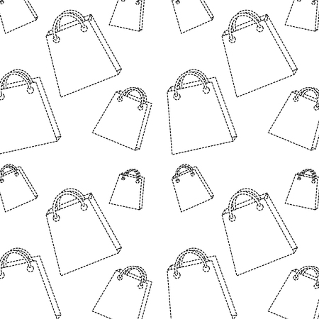 shopping bag pattern image vector illustration Illustration