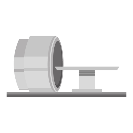 tomography scanner machine icon vector illustration design Illustration
