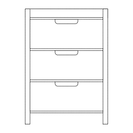 Hôpital exploitation tiroir isolé icône vector illustration design Banque d'images - 92513853