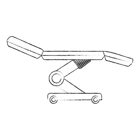 Dental Bahre isoliert Symbol Vektor-Illustration , Design , Standard-Bild - 92514049