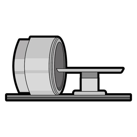 Tomographie scanner machine icône vector illustration design Banque d'images - 92518356