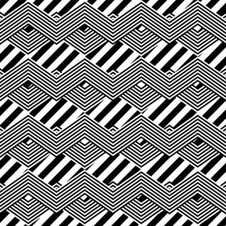 geometric lines pattern background vector illustration design Stock Vector - 92538311
