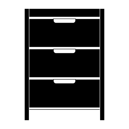 Hospital operating drawer isolated icon vector illustration design Stock Vector - 93058603