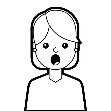 5980 Surprised Girl Stock Vector Illustration And Royalty Free