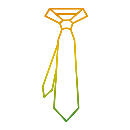 tie for men accessory fashion trendy vector illustration Фото со стока - 93199630