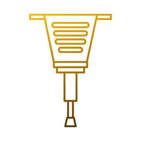 Jackhammer gereedschapsbouwapparatuur