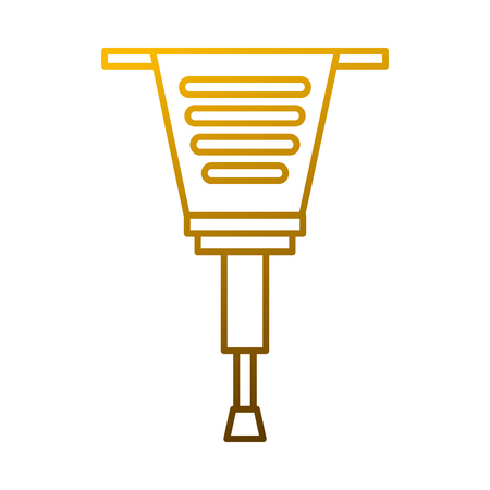 Jackhammer tool construction equipment