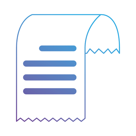 Bondocument het ontwerp van de pictogramillustratie Stock Illustratie