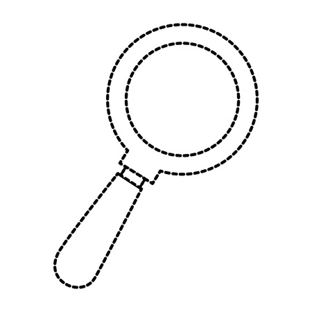 Search magnifying glass icon. Vector illustration design.