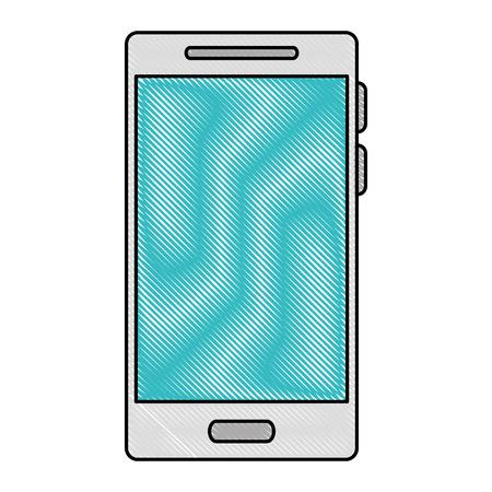 Smartphone device isolated icon. Vector illustration design.