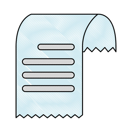 Voucher paper isolated icon vector illustration design. 向量圖像