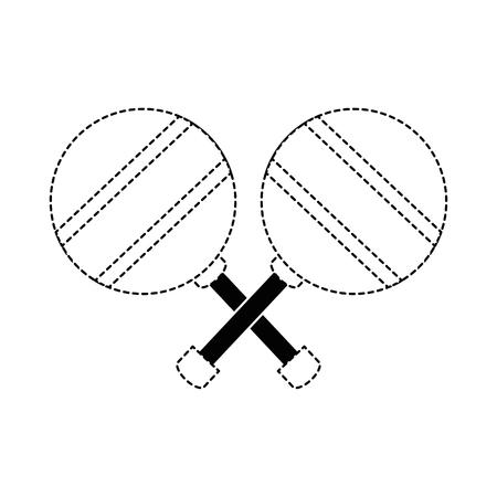 leuk vector de illustratieontwerp van het babyjingle Bell