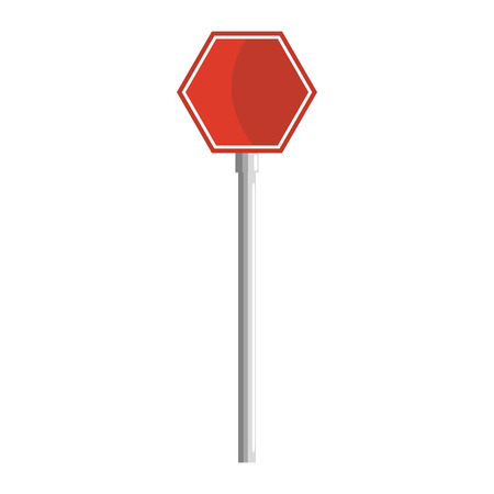 Stop traffic signal icon illustration design. Illustration