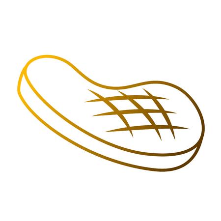 Icona di bistecca di filetto Archivio Fotografico - 93257611
