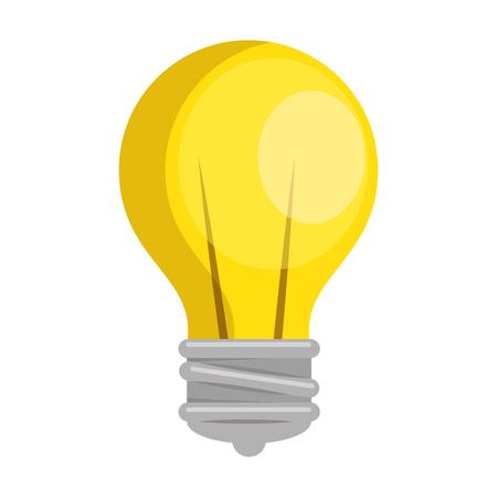 Bulb light icon Illustration