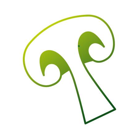 Mushroom icon Illustration