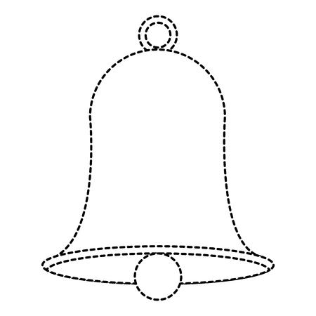christmas bell decorative icon vector illustration design Ilustração
