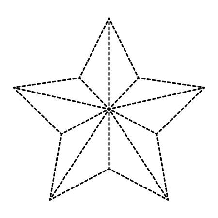 Weihnachtsstern dekorative Symbol Vektor-Illustration , Design , Standard-Bild - 93259148