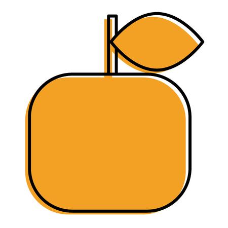 Ilustración de vector de fruta cítrica fresca fruta naranja Foto de archivo - 93263737