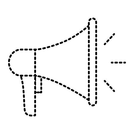 speaker volume maketing advertising icon vector illustration Illustration