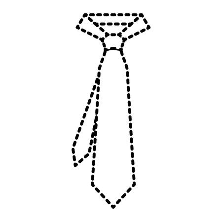 男性アクセサリーファッショントレンディベクトルイラストのためのネクタイ
