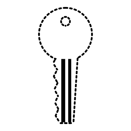 key access security protection icon vector illustration