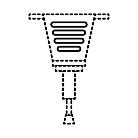 Outil de réparation outil de réparation de construction illustration vectorielle Banque d'images - 93265306