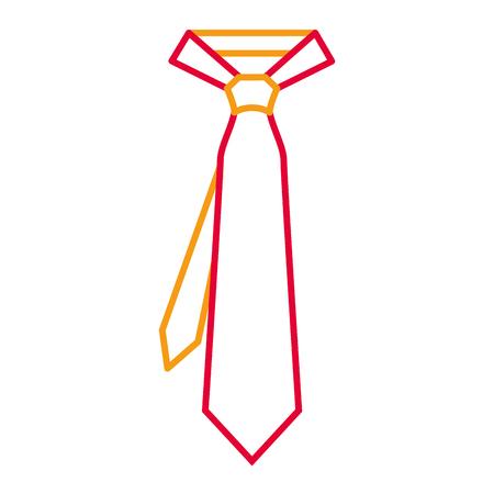 Tie for men accessory fashion trendy vector illustration Фото со стока - 93315106
