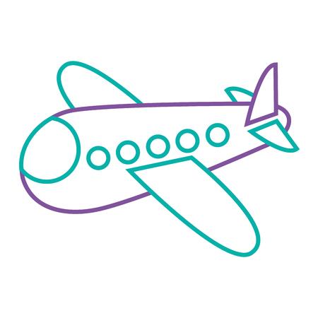 Avião, mosca viajar brinquedo icon ilustração vetorial. Foto de archivo - 93319269