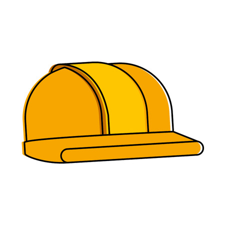 helmet construction isolated icon vector illustration design Ilustrace