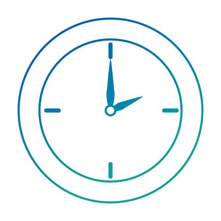 time clock isolated icon vector illustration design Ilustração