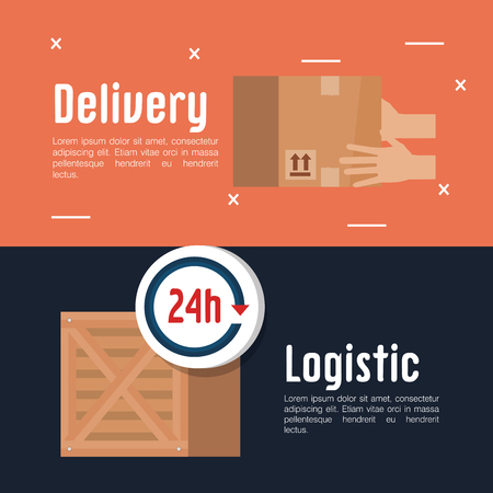 free delivery set icons vector illustration design Illustration
