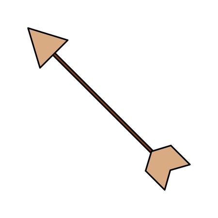 arrow ethnic tribal image design vector illustration