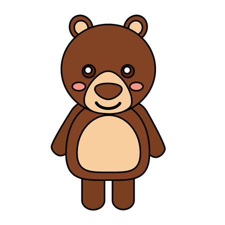 bear cute animal icon image vector illustration design